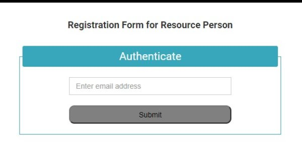 CBSE Registration to be a Resource Person